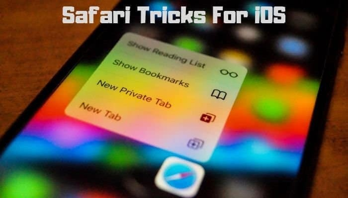 Safari Tricks for iOS
