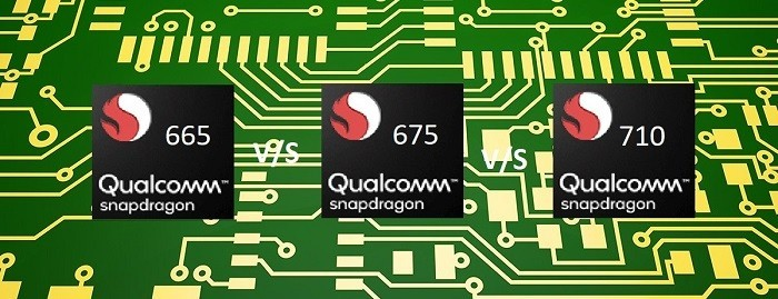 Snapdragon 665 vs Snapdragon 675 vs Snapdragon 710: Battle of the Gaming Chips!