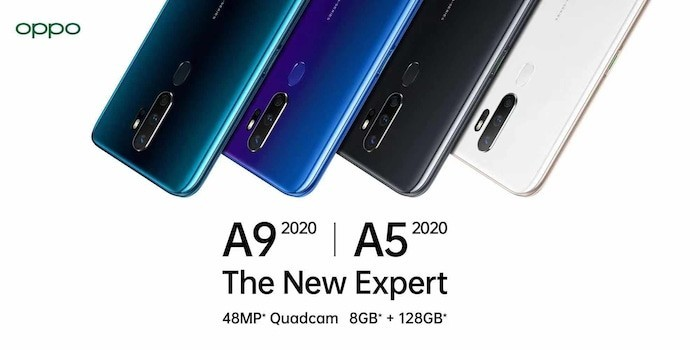 OPPO A5 2020 and A9 2020 with Snapdragon 665 and Quad-Camera Announced