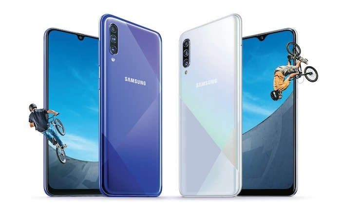 Samsung Galaxy A30s and A50s with Triple Rear Cameras Announced