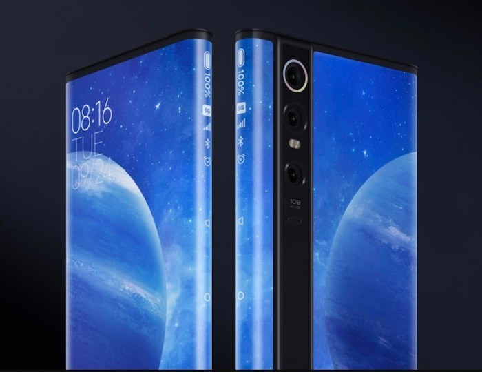 Xiaomi Mi Mix Alpha with 180.6% Screen-to-Body Ratio and 108MP Camera Announced