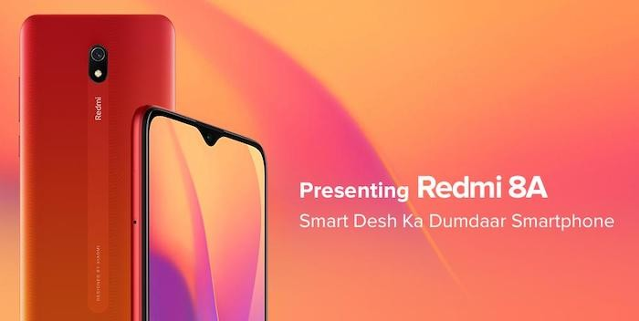 Xiaomi Redmi 8A with Snapdragon 439 and 5000mAh Battery Launched in India