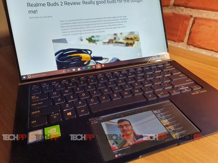 Asus Zenbook 14 UX434 Review: Your Touchpad Now has a Screen!