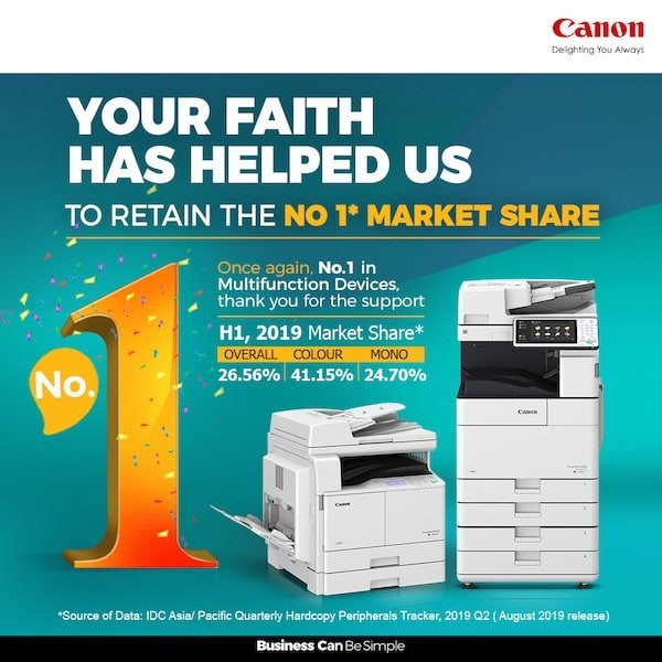 canon business