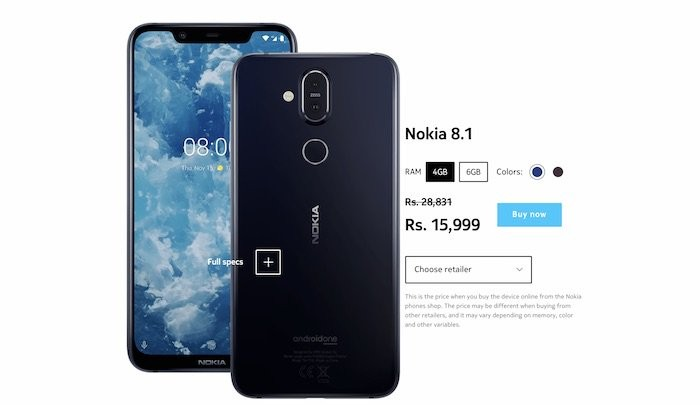 [Bazaar Bargain] At Rs 15,999, the Nokia 8.1 is (finally) a winner