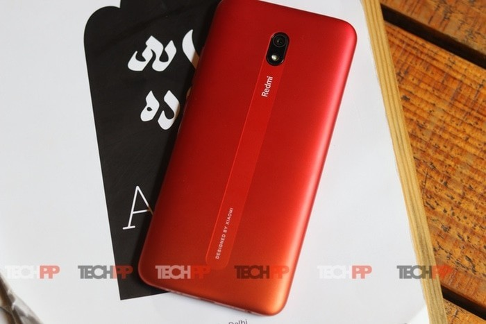 [First cut] Redmi 8A:  Them A+ Looks!