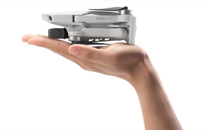 DJI Mavic Mini is an ultralight drone with Quad HD camera and doesn't need Regulatory approval