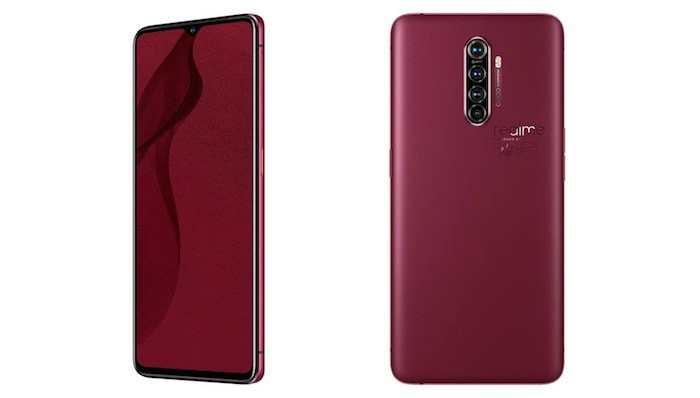 Realme X2 Pro Master Edition Red Brick front
