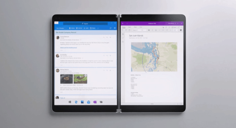 Microsoft Surface Neo is a Foldable with Dual Displays and Windows 10X OS