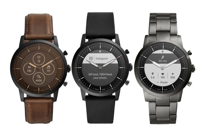 Fossil Hybrid HR with Two-Week Battery and Heart Rate Sensor Launched