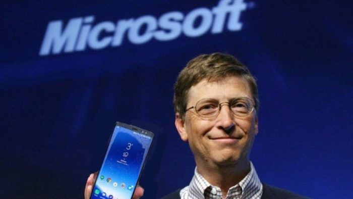 bill gates windows mobile