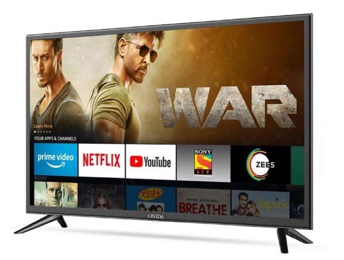 Onida Fire TV Edition Smart TVs Launched in India Starting at Rs 12,999