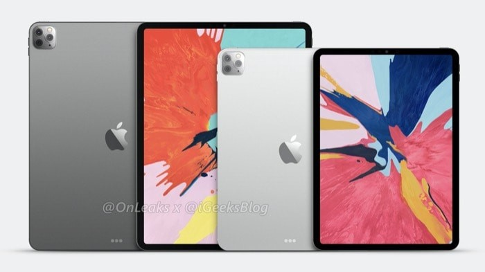 Two 2020 iPad Pro models with triple rear cameras hint at increased focus on AR