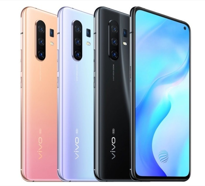 Vivo X30 and X30 Pro 5G smartphones with Exynos 980 and Triple Rear Cameras Announced