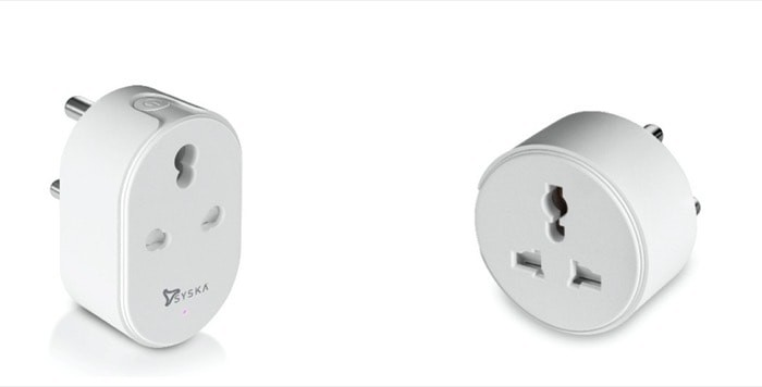 Syska Smart Plug (16A) and Smart Mini Plug (10A) Launched in India