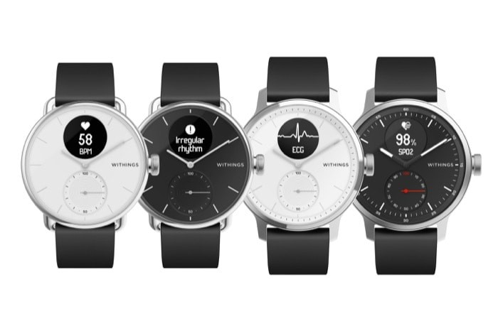 Withings ScanWatch Hybrid Smartwatch with Sleep Apnea Detection Announced