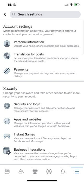 Enable Two Factor Authentication Facebook Android iOS 3