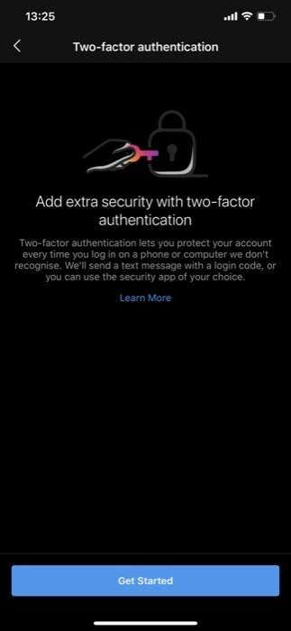 Enable Two Factor Authentication Instagram Android iOS 5