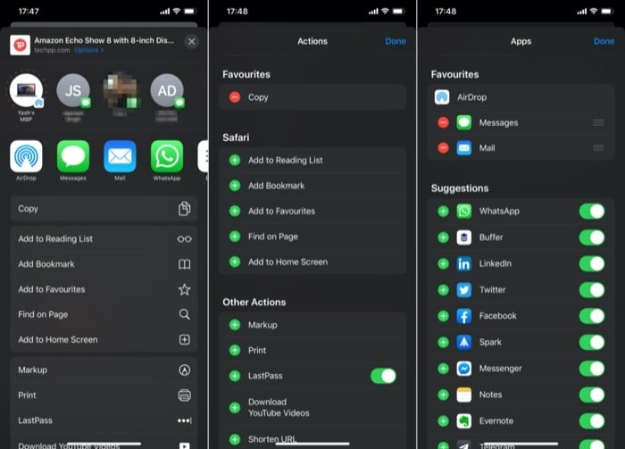 How to Customize and use Share Sheet on iOS 13
