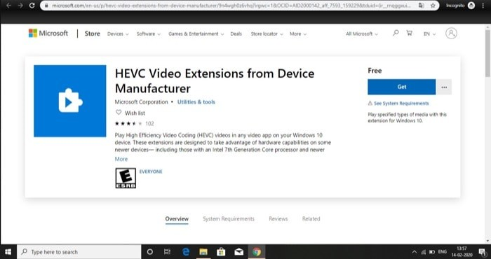 How to enable support for HEIF and HEVC Files on Windows 10 2