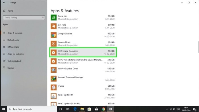 How to fix HEIF and HEVC extentions not working on Windows 10 3