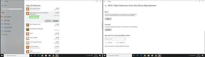 How to fix HEIF and HEVC extentions not working on Windows 10 6