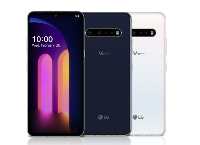 LG V60 ThinQ 5G with Snapdragon 865 and New Dual Screen Announced