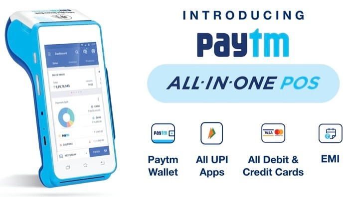 Paytm launches All-in-One Android POS for SMEs and Merchant Partners