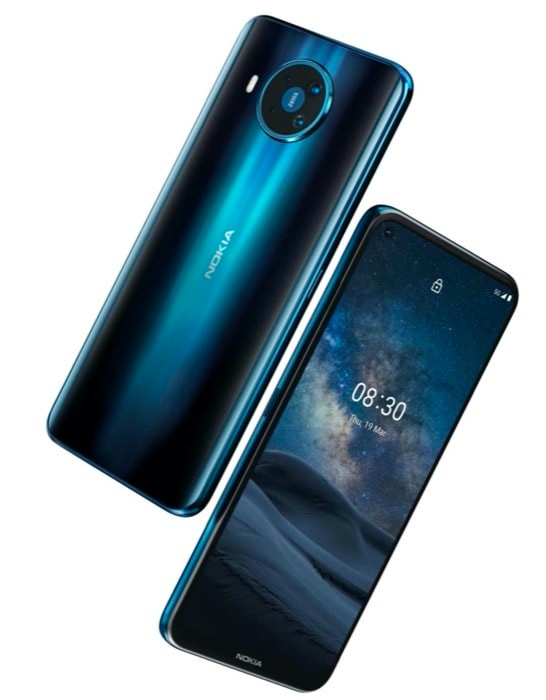 Nokia 8.3 5G with Snapdragon 765G and Quad Rear Cameras Announced