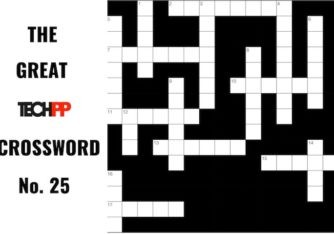 The Great TechPP Crossword: Episode 25