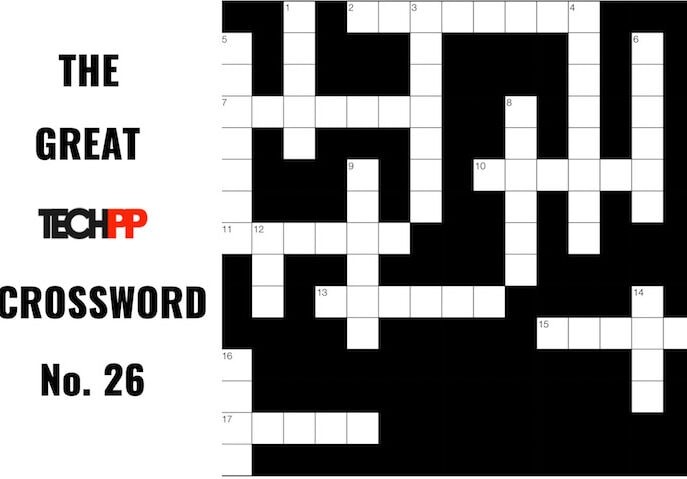 The Great TechPP Crossword: Episode 26