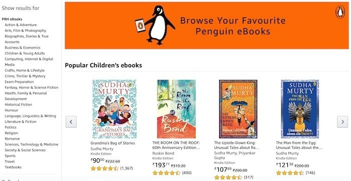 eBook era cometh? Penguin Launches Exclusive eBookstore on Amazon India!