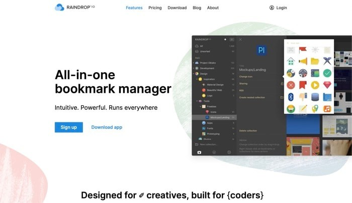 Best Bookmark Manager Raindrop.io