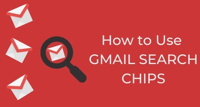 How to use Gmail Search Chips