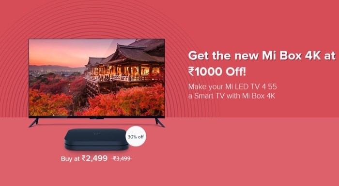 No Android TV update for Mi TV 4 (55); Users get discount on Mi Box 4K