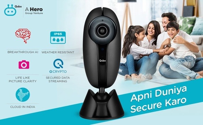 Qubo Smart Home Security Camera Launched for Rs 4290