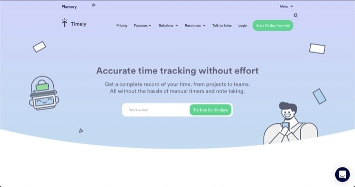 Timely Time Tracker