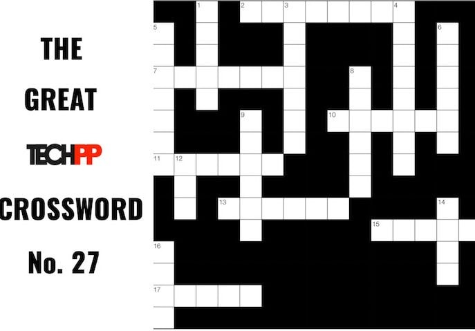 The Great TechPP Crossword: Episode 27
