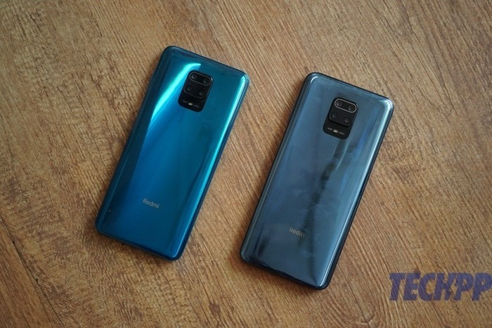 note 9 pro vs max back