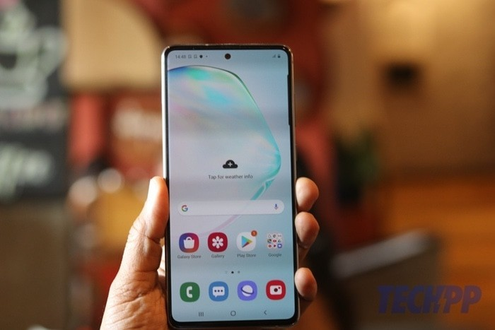 samsung galaxy note 10 lite review 8