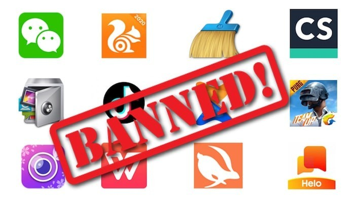 59 Chinese Apps Including TikTok, CamScanner, Shareit and UC Browser Banned by the Indian Government