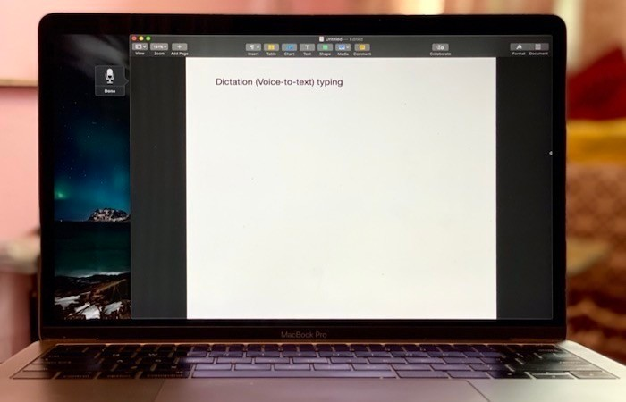 Dictation (Voice-to-Text) Typing on Mac