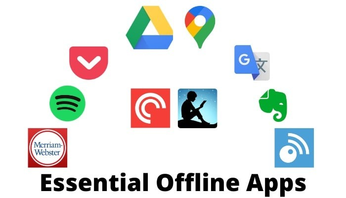 10 Essential Offline Apps (Android and iOS) for When You Have No Internet Connection