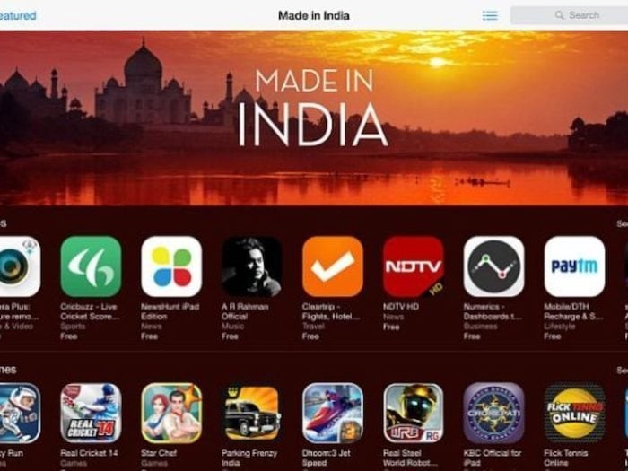 Popular Made in India Apps