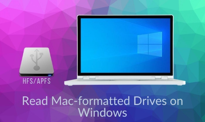 How to Read a Mac-formatted Drive on Windows