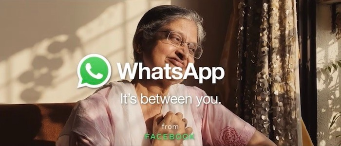 [Tech Ad-Ons] WhatsApp: It's between you, even in the ad!