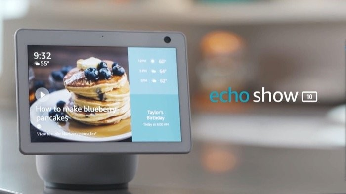 Amazon Echo Show 10 with move and auto-frame abilities announced