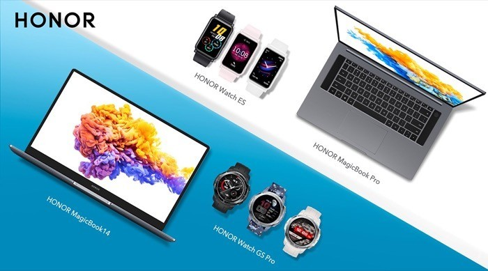 Honor launches Watch GS Pro and Watch ES alongside new Ryzen-powered MagicBook lineup
