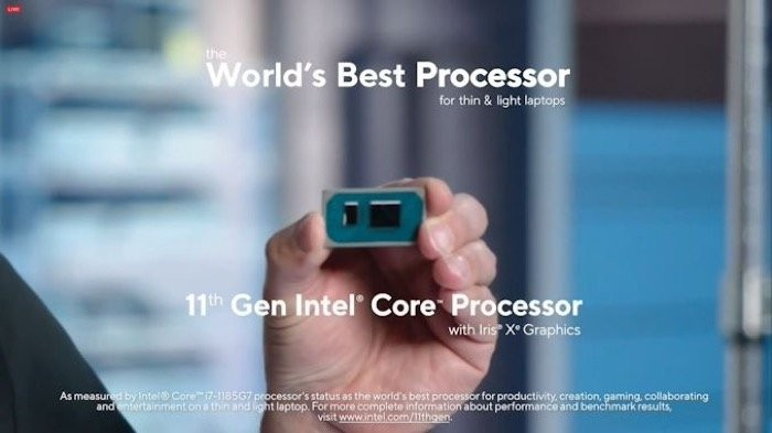 Intel 11th-Gen Tiger Lake processors with up to 4.8GHz and Iris XE Graphics announced