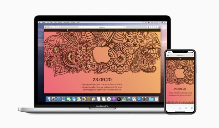 Official Apple Online Store Launching in India on September 23